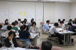 0822_臨床現場看護師との意見交換の様子(川嶋隆廣)