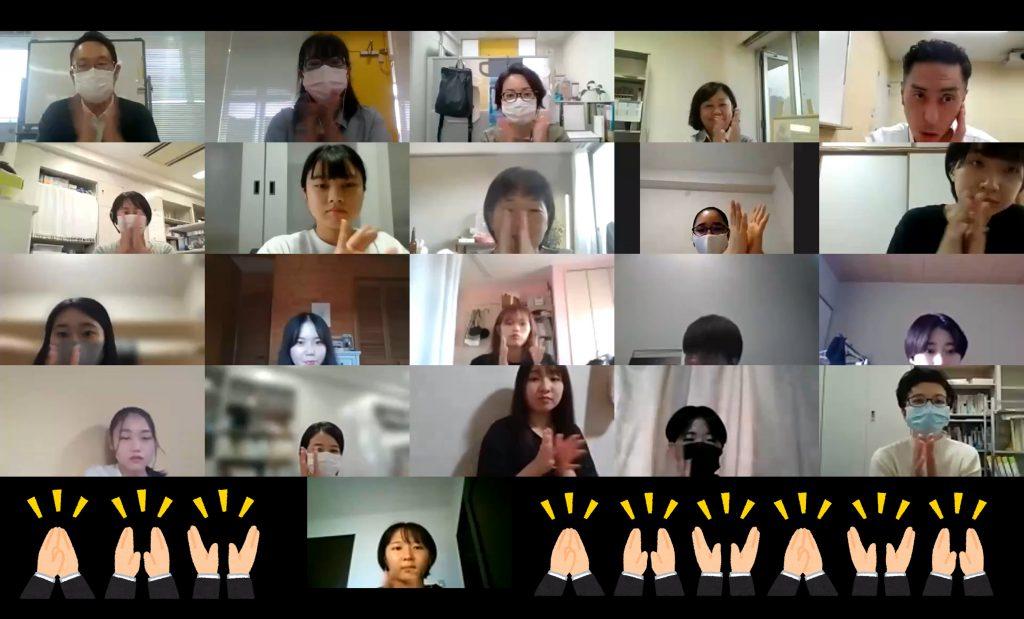 2021.09.15②第2回ランチョンお礼拍手.福本優子