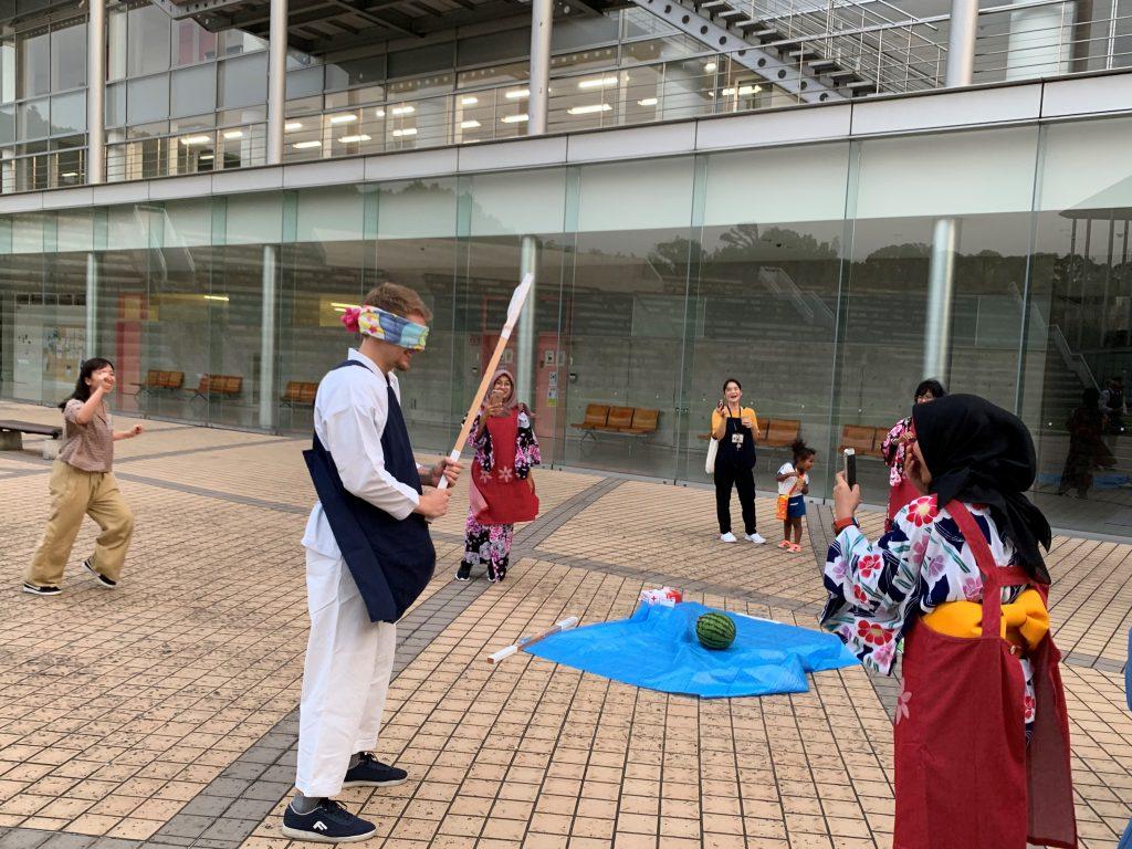 2019.7.10②短期留学生のウェルカムパーテイを開催しました_木村涼平
