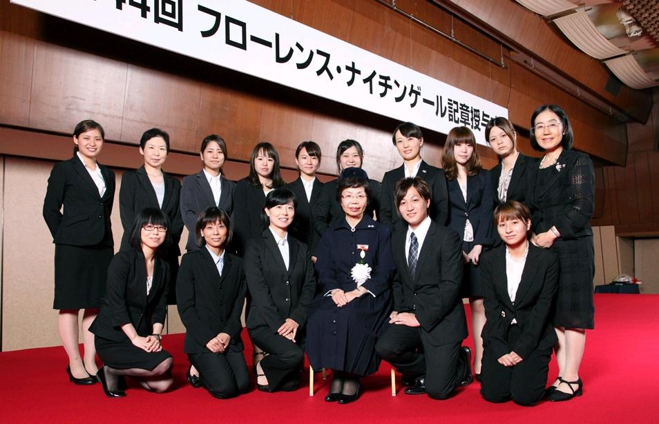 日本赤十字九州国際看護大学 第44回フローレンス・ナイチンゲール記章 ...