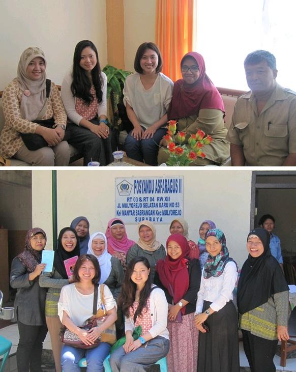 写真(上)プスケスマス母子サービスセンター 写真(下)コミュニティーヘルスセンター