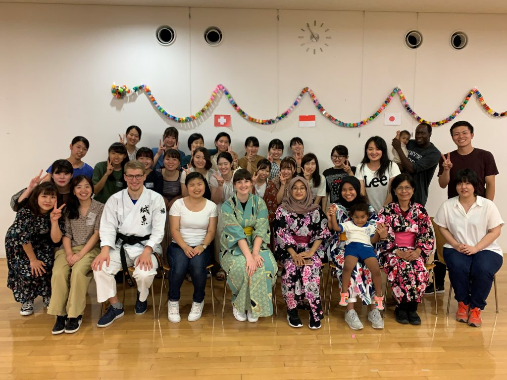 2019.7.10③短期留学生のウェルカムパーテイを開催しました_木村涼平