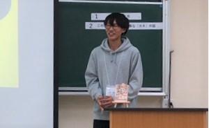 2018.11.25 白倉理絵(ビブリオバトル地区決戦②)
