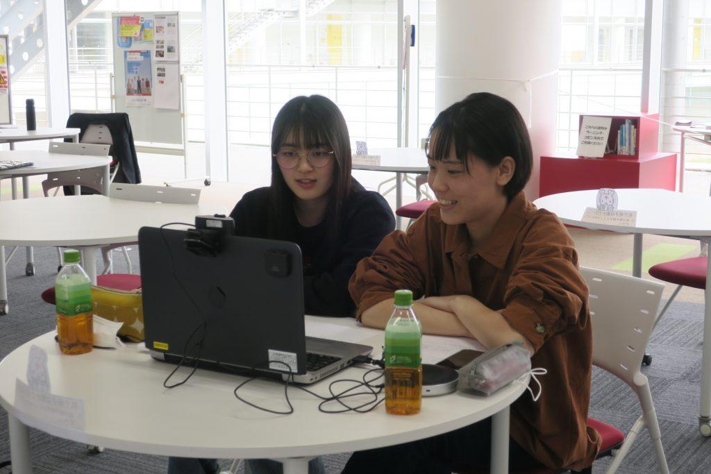 2021.3.20春のオンラインオープンキャンパス報告(在校生との交流会)山本早央里